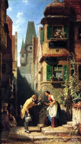 8014171b9745953b1c4c1d6d3c2abfb5-carl-spitzweg-art-paintings